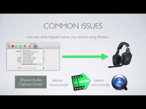 iShowU Audio Capture Explanation - YouTube