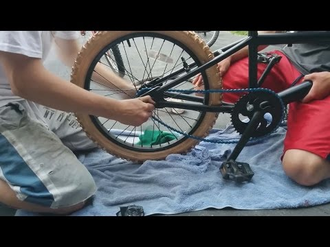 How To Paint Your BMX (Amateur Version)