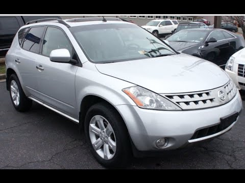 2007 Nissan Murano SL AWD Walkaround, Start up, Tour and Overview - YouTube