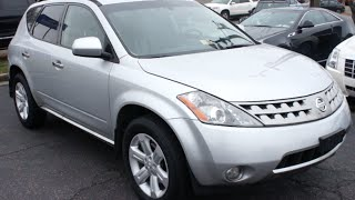 2007 Nissan Murano SL AWD Walkaround, Start up, Tour and Overview