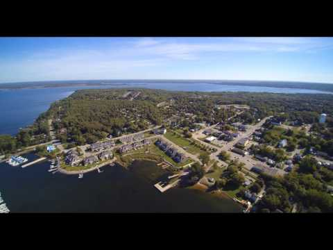 Aerial view Victoria Harbour Ontario Sept 17/18 weekend 2016