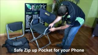 Easy Fold Directors Chair Caravan Camping Www Eledric Com Au