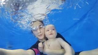 Грудничковое плавание в Сочи | АкваBaby #01