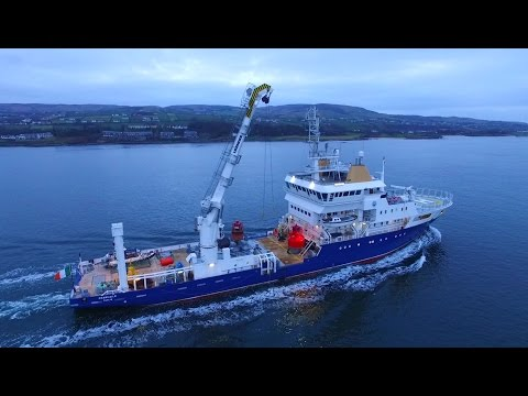 DJI Phantom 3 Advanced - Bulk Carrier Strategic Endeavor & Buoy Laying Vessel Granuaile
