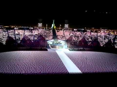 Opening Ceremony of PAN ARAB GAMES, DOHA 2011 .mp4