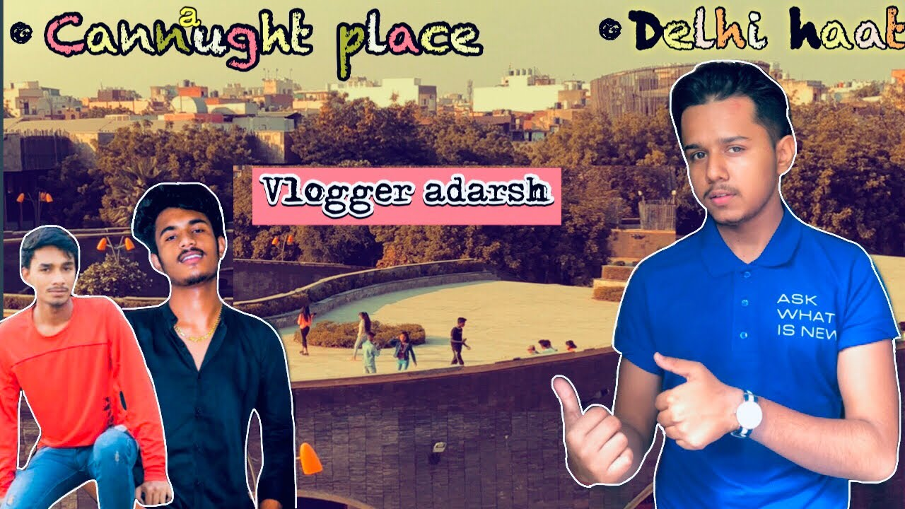 Download Chalo Koi Toh Single Mila Yaha pai😂   Vlogging/Travelling In Delhi Haat And Cp  Vlogger adarsh