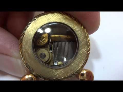 Reuge miniature music box, #57