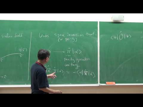 8/7/2012 高涌泉 教授, Symmetry and symmetry breaking in physics II Part I