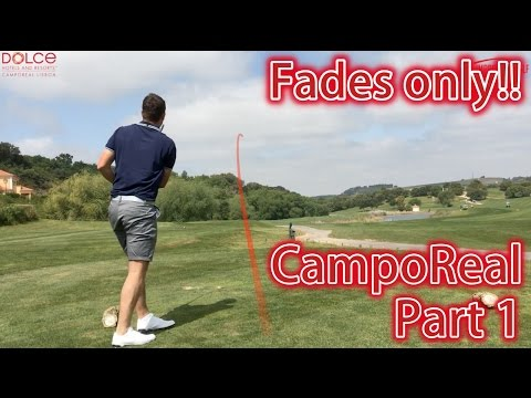 The Fade Only Vlog  – CampoReal Golf Resort Part 1