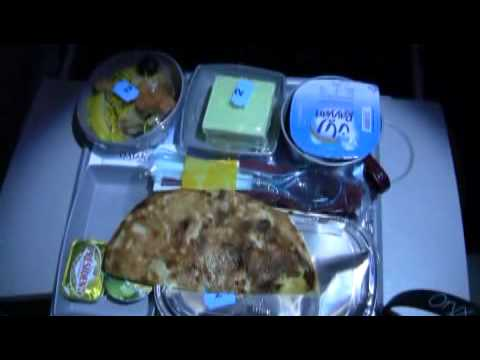 Qatar Airways Inflight Dinner