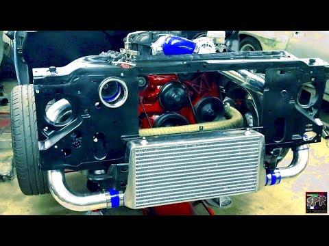 The 5.3 Junkyard/Budget Turbo LS Build Continues | Intercooler, Shocks, New Parts + MORE!