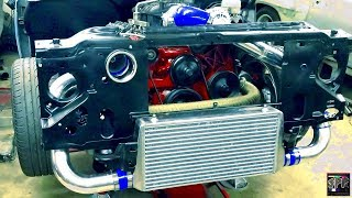 The 5.3 Junkyard/Budget Turbo LS Build Continues | Intercooler, Shocks, New Parts + MORE!