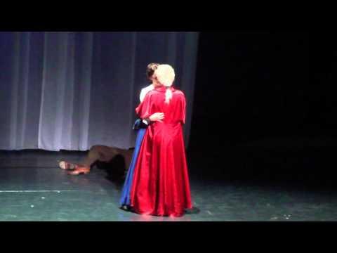 Dracula Pforzheim Derniere: Minas Verführung/Zu Ende (Femke Soetenga, Chris Murray, Jon Goldsworthy)