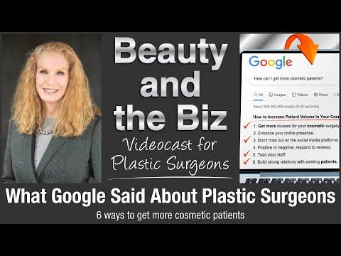 What Google Said About Plastic Surgeons