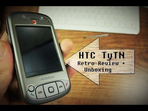 RETRO Review / Unboxing : HTC TyTN bzw Xda orbit bzw VPA Compact III..