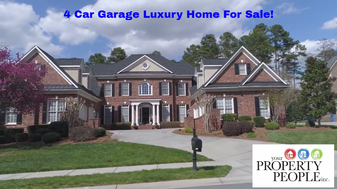 Luxury 4 Car Garage Home For Sale In Weddington Chase Youtube