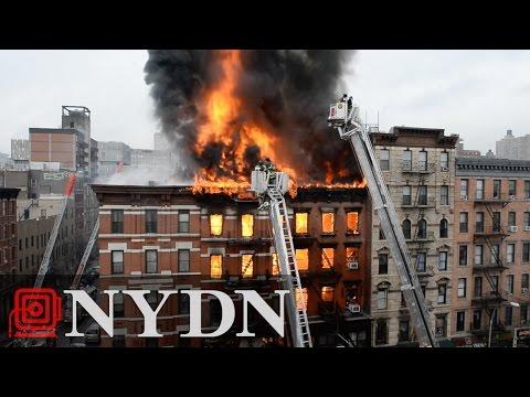 Manhattan Building Collapses After Gas Leak Explosion