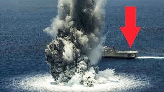 US Navy Using Best Weapons: Missiles, Bombs, Naval Guns, Explosives vs Ships