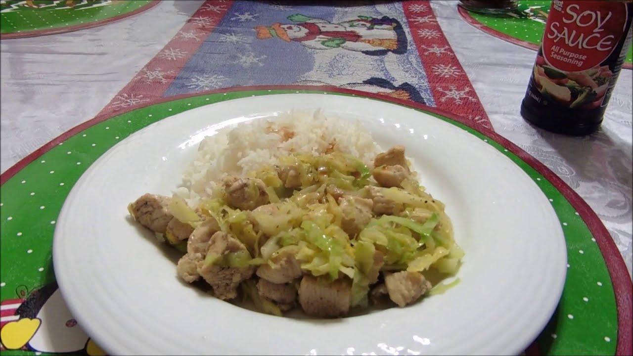 Cocinar Repollo   Como Cocinar Comida Peruana Saltadito De Repollo Simple Y
