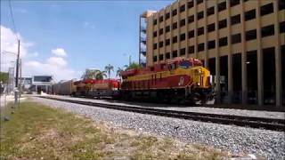 GE ES44C4 #822 Leads Florida East Coast 109 Southbound