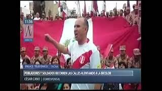 EJÉRCITO ALIENTA A SELECCIÓN DESDE TACNA: TV-8 100CT17