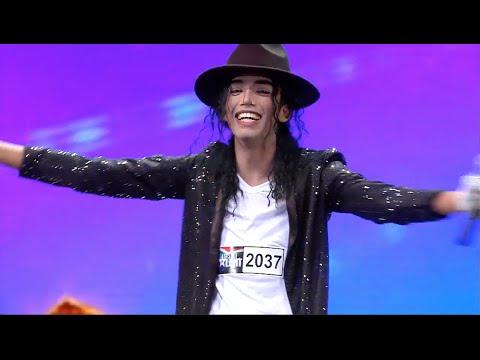 SA's Got Talent 2016: Eagan Feb (Michael Jackson Impersonator)