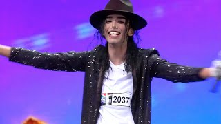 SAs Got Talent 2016 Eagan Feb Michael Jackson Impersonator
