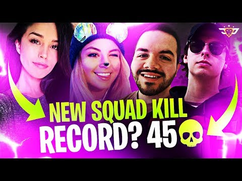 NEW SQUAD KILL RECORD?! - STEADY STORM DESTRUCTION! (Fortnite: Battle Royale)