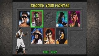 Mortal Kombat Arcade - Playthrough (XBOX 360)