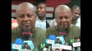John Mahama's victory speech after winning massively in NDC's primaries