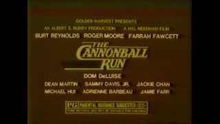 The Cannonball Run 1981 TV trailer