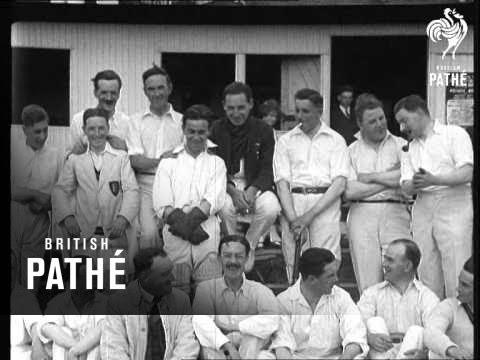 Renters Defeat Exhibitors Aka Annual Cinema Cricket Match (1925)
