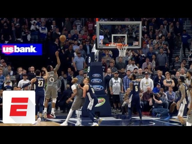 Jeff Teague hits the shot that ends the Timberwolves' 14-year playoff drought | ESPN