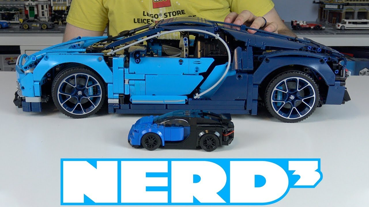 nerd lego technic bugatti chiron 42083 youtube. Black Bedroom Furniture Sets. Home Design Ideas