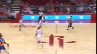 Jimmer Fredette half court 3-pointer