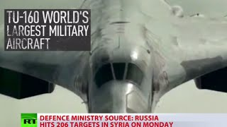 Russia steps up anti-terror mission in Syria, uses largest supersonic jet