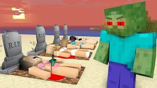 ZOMBIE VILLAIN LIFE - Sad Love Minecraft Animation