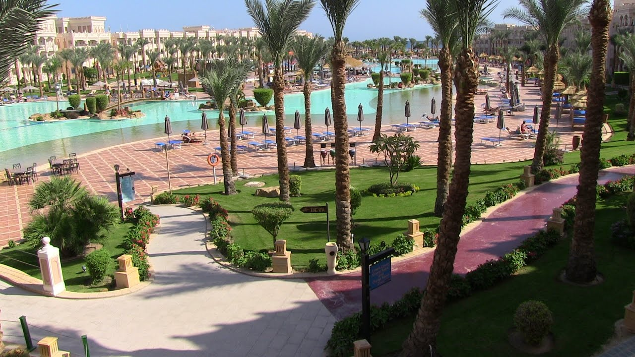 Egypt Hurghada hotel Pickalbatros Albatros Palace - YouTube