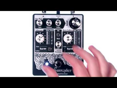 EarthQuaker Devices - Data Corrupter Demo