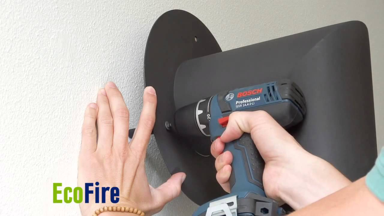 ecofire bio ethanol design fireplace by eontop metaloterm youtube