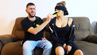 WHAT'S IN MY MOUTH CHALLENGE! *VERY AWKWARD*