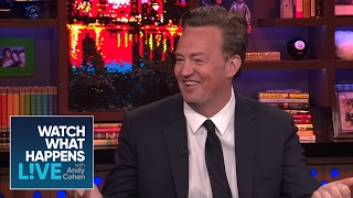 Matthew Perry Gets How Much From His 'Friends' Residual Checks? | WWHL