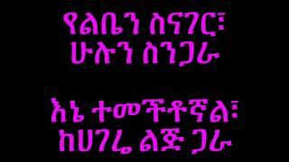 Abby Lakew Yene Habesha **LYRICS**