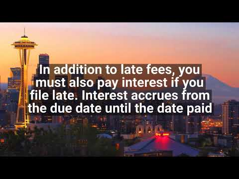 Seattle Business License Tax Due Dates - Seattle CPA