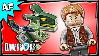 Lego Dimensions JURASSIC WORLD Team Pack 3-in-1 Build Review 71205