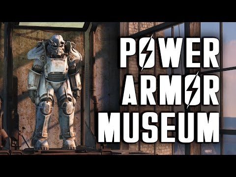 Power Armor Museum - Every Suit, All Paints - Fallout 4