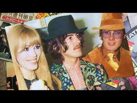 ♫ John Lennon and George Harrison in Club Dell'Aretusa, London  1968