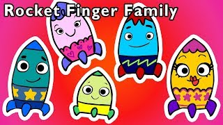 Rocket Finger Family and More | SPACESHIP DADDY FINGER SONG | Nursery Rhymes from Mother Goose Club!