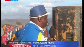 NASA's co-principal, Isaac Ruto defends his absence from the recent NASA rallies