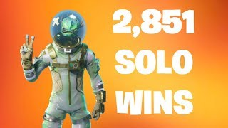 #1 Fortnite World Record 2,851 Solo Wins | Fortnite Live Stream